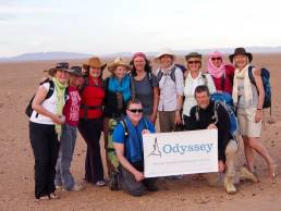 Odyssey Challenging Cancer Sahara Walk