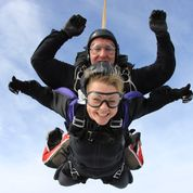 Fundraising by Sky Diving